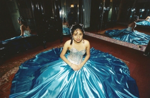 02 Quinceañera-Girl on her fifteenth birthday 2000